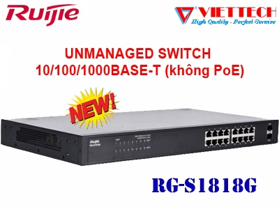 Unmanaged switch 16 cổng RUIJIE RG-S1826G