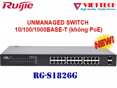 Unmanaged switch 24 cổng RUIJIE RG-S1826G
