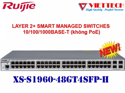 Layer 2 Smart Managed Switch 48 Cổng XS-S1960-48GT4SFP-H
