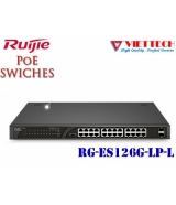 UNMANAGED POE SWITCH 24 Cổng Ruijie RG-ES126G-LP-L