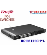 UNMANAGED POE SWITCH 8 Cổng Ruijie RG-ES126G-P-L