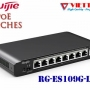 UNMANAGED POE SWITCH 8 Cổng Ruijie RG-ES109G-LP-L